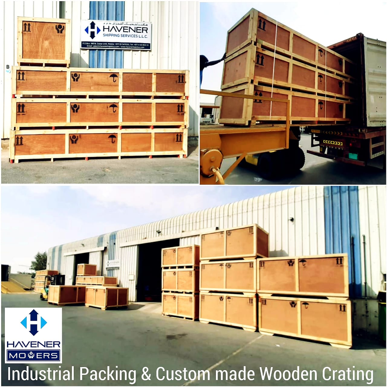 Industrial packing and removals brief 1